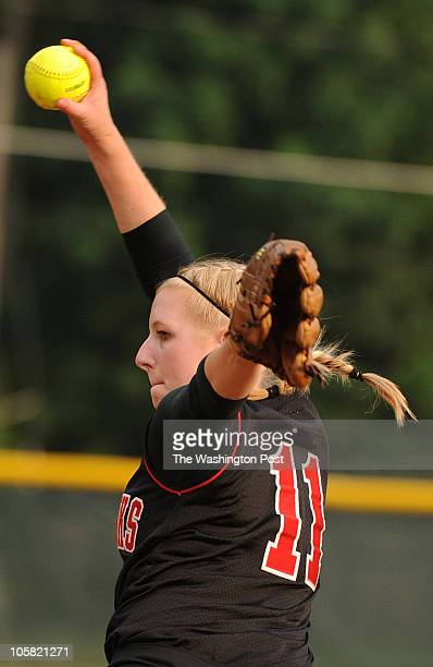 Madison pitcher Sam Brady during the Northern Region final game at Lake Braddock High School on Friday June 4 2010 Stone Bridge defeated Robinson 20...
