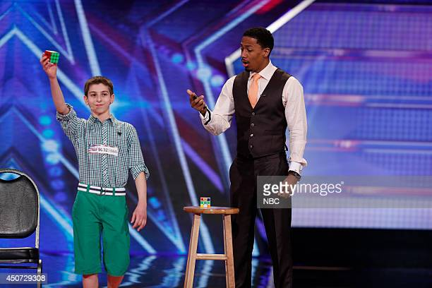 S GOT TALENT Madison Square Garden Auditions Pictured Rami Sbahi Nick Cannon