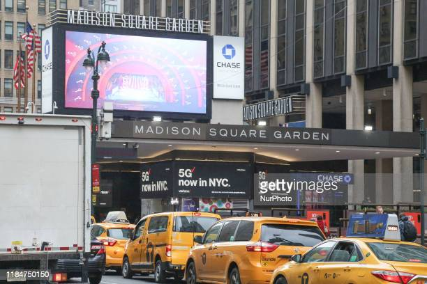 Madison Square Garden MSG a multipurpose sports and concert arena located above metro Penn / Pennsylvania Station in the Chelsea neighborhood of...