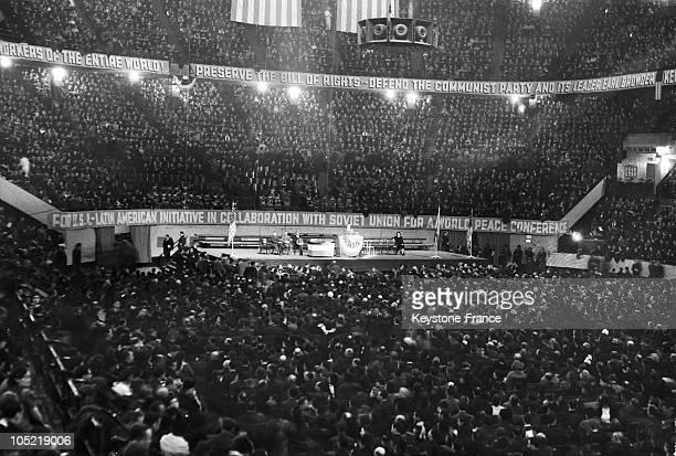 Madison Square Garden. Soviet Union 22Th Anniversary