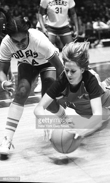 Madison Square Garden UCLA of women basketball Queens College vs Immaculata College A gathering of 11976 came by to see if the Pennsylvania people...