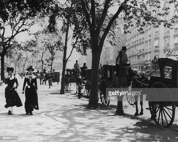 Madison Square Park in New York City at the junction of 5th Avenue and 24th Street 1901