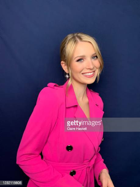 Madison Thompson is seen in her award show look for the 27th Annual Screen Actors Guild Awards on March 31, 2021 in Los Angeles, California. Due to...
