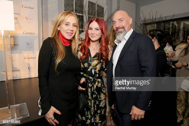 Madison Venit Adam Venit attend Visionary Women honors activist and actress Demi Moore in celebration of International Women's Day on March 8 2018 in...