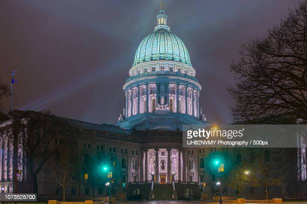 madison wisconsin capital building - iron_county,_wisconsin stock pictures, royalty-free photos & images