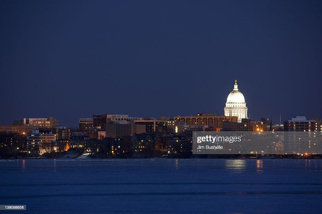 Madison Wisconsin : Stock Photo