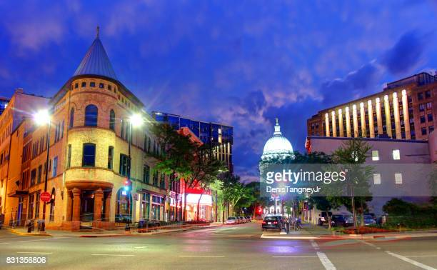 madison, wisconsin - wisconsin stock pictures, royalty-free photos & images