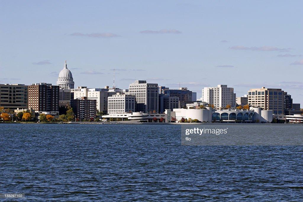 Madison Wisconsin Skyline : Stock Photo