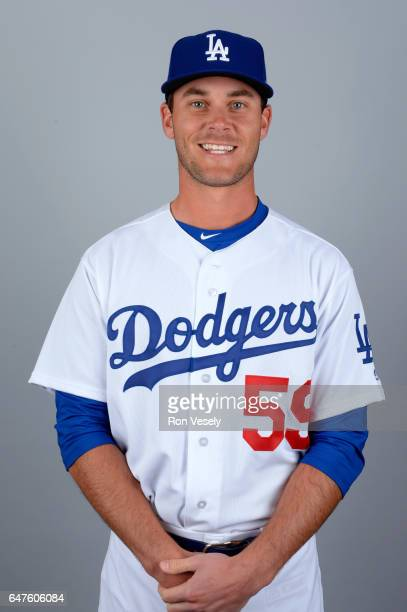 Madison Younginer of the Los Angeles Dodgers poses during Photo Day on Friday February 24 2017 at Camelback Ranch in Glendale Arizona