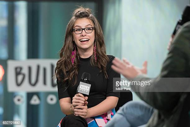 Madisyn Shipman visits Build Series to discuss 'Game Shakers' at Build Studio on January 25 2017 in New York City