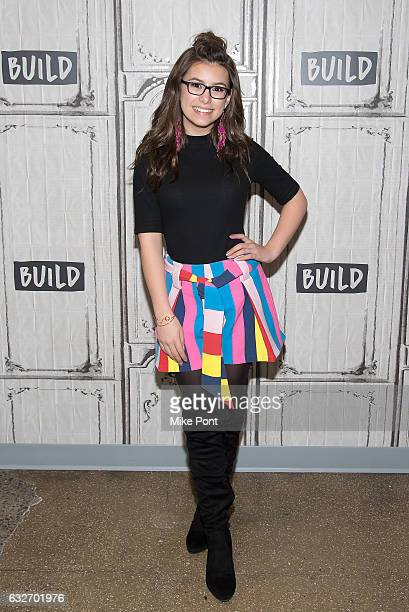 Madisyn Shipman visits Build Series to discuss Game Shakers at Build Studio on January 25 2017 in New York City