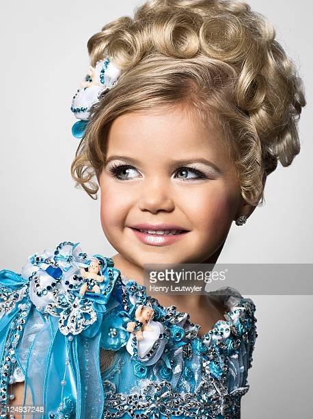 Madisyn Verst, a contestant in child beauty pageants, is photographed for People Magazine on August 5, 2011 in Nashville, Tennessee.
