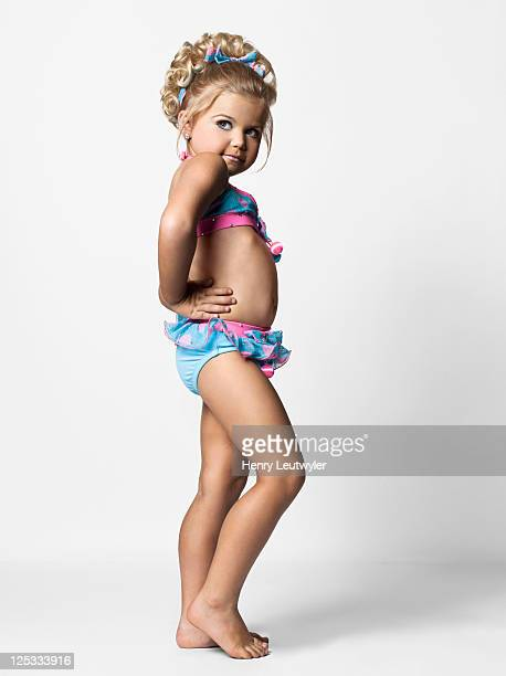 Madisyn Verst a contestant in child beauty pageants is photographed for People Magazine on August 5 2011 in Nashville Tennessee