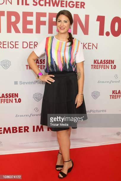 Til Schweiger and Svenja Holtmann attend the premiere of the film 'Klassentreffen 10 Die unglaubliche Reise der Silberruecken' at Cinemaxx on...