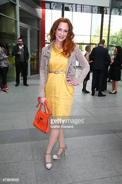 Madleine Kaniuth poses during the pre golf party of the 7th Golf Charity Cup hosted by the Christoph Metzelder Foundation on May 17 2015 in Cologne...