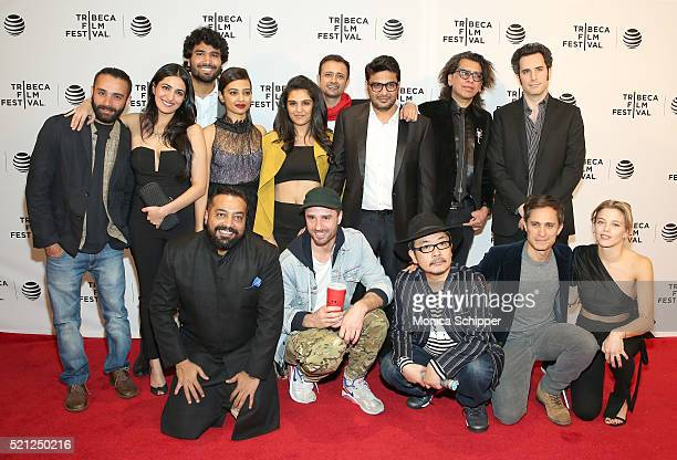 Madly cast and crew is seend during Madly Premiere 2016 Tribeca Film Festival at Chelsea Bow Tie Cinemas on April 14 2016 in New York City