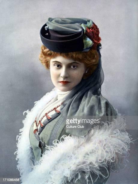 Madmoiselle Maia Franch actress at Theatre de la Renaissance