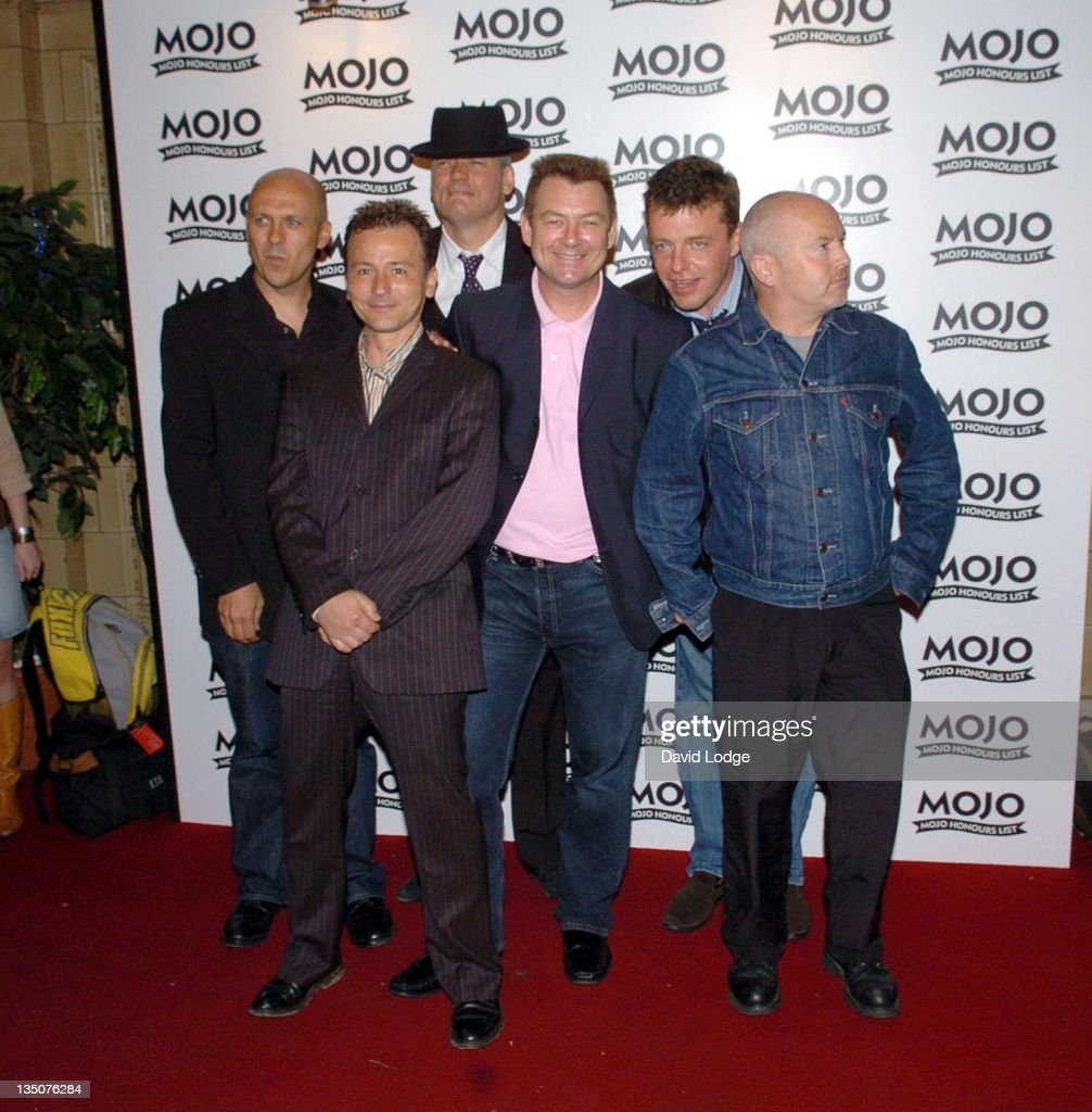 Madness during 2005 Mojo Honours List Awards - Arrivals at Porchester Hall in London, Great Britain.