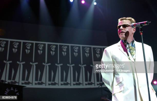 Madness lead singer Suggs performs on stage during a special concert for the Teenage Cancer Trust Charity at the Royal Albert Hall * The Teenage...