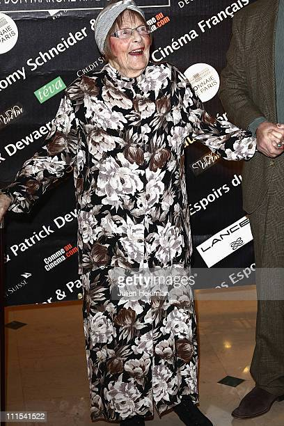 Mado Maurin attends the Romy Schneider And Patrick Dewaere Awards 2011 at Le Bon Marche on April 4 2011 in Paris France
