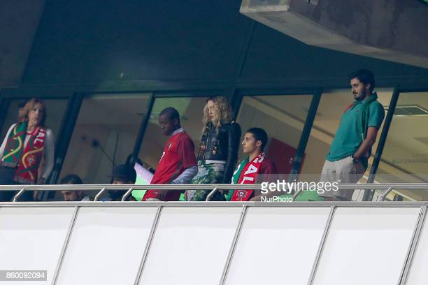 Madona during the match between Portugal v Switzerland FIFA 2018 World Cup Qualifier match at Luz Stadium on October 10 2017 in Lisbon Portugal