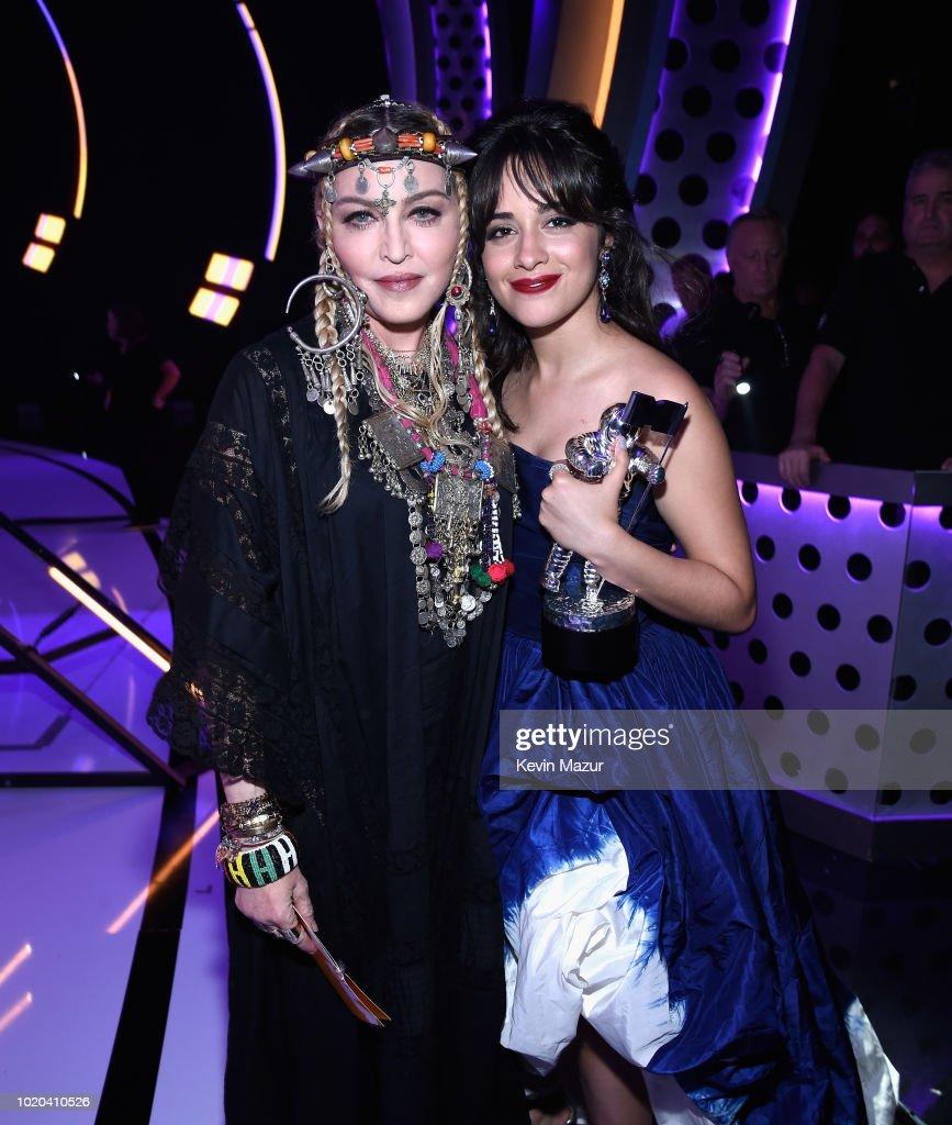 2018 MTV Video Music Awards - Backstage : News Photo