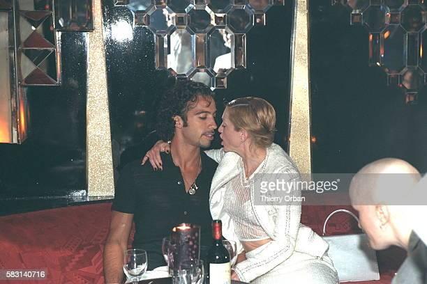 Madonna and Carlos Leon