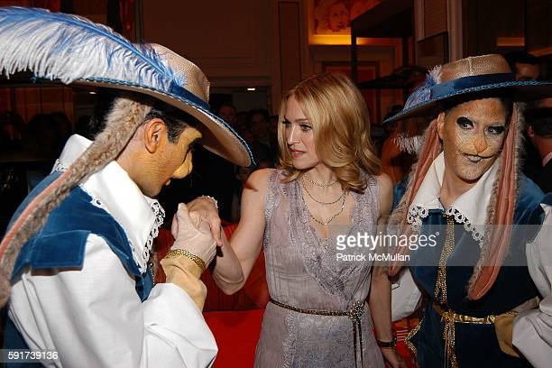 Madonna and Characters attend Madonna Childrens Book Lotsa de Casha published by Callaway Arts and Entertainment at Bergdorf Goodman on June 7 2005...