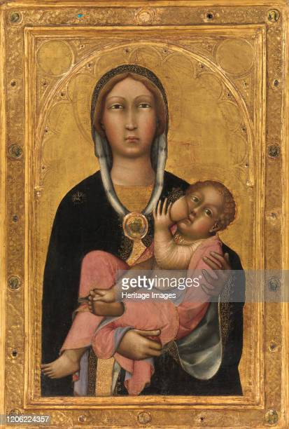 Madonna and Child 1370s Artist Paolo di Giovanni Fei