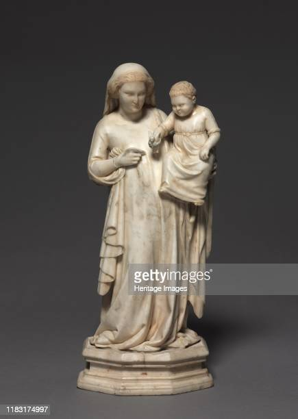 Madonna and Child circa 13301340 One of the most important and beautiful sculptures that still exist by this artist this work is believed to be the...