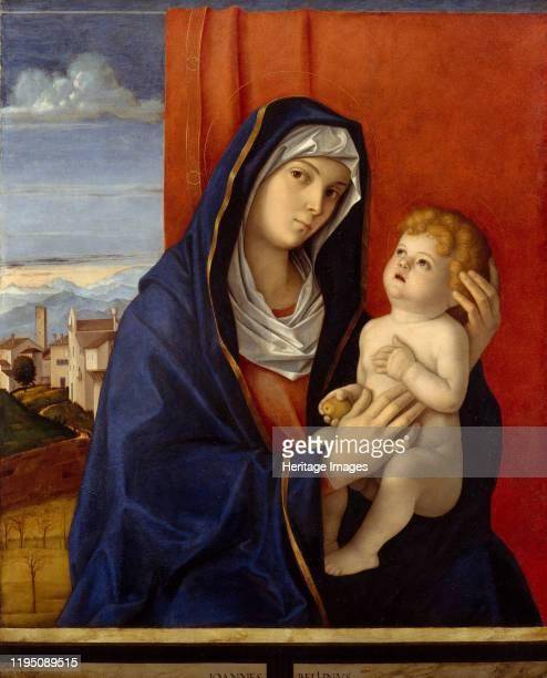 Madonna and Child late 1480s Artist Giovanni Bellini