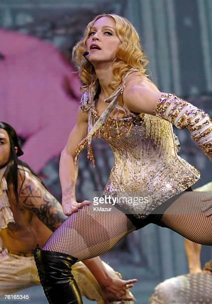 Madonna and dancers perform 'Vogue'