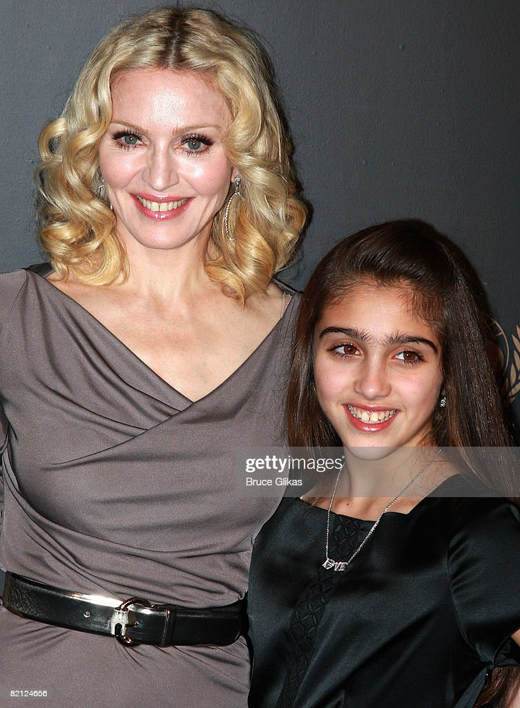 "Madonna and daughter Lourdes Leon arrive for ""A Night To ..."