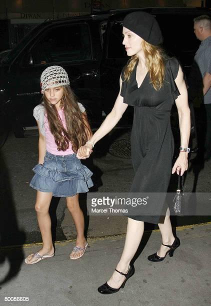 Madonna and daughter Lourdes Leon