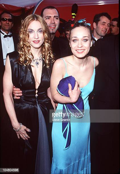 Madonna and Fiona Apple during The 70th Annual Academy Awards Red Carpet at Shrine Auditorium in Los Angeles California United States