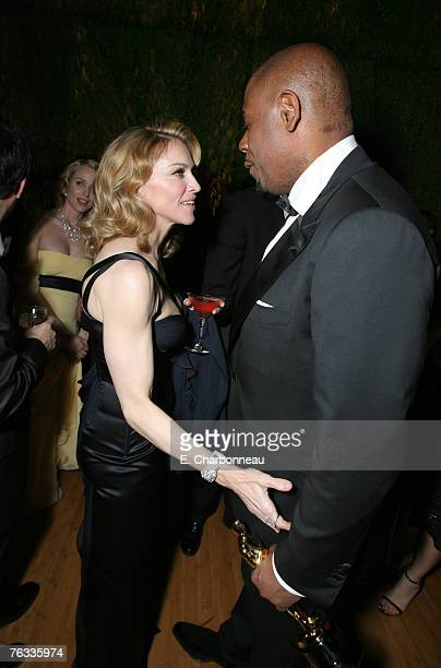 Madonna and Forest Whitaker winner Best Actor in a Leading Role for The Last King of Scotland