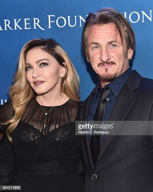 Madonna and host Sean Penn attend the 5th Annual Sean Penn Friends HELP HAITI HOME Gala Benefiting J/P Haitian Relief Organization at Montage Hotel...