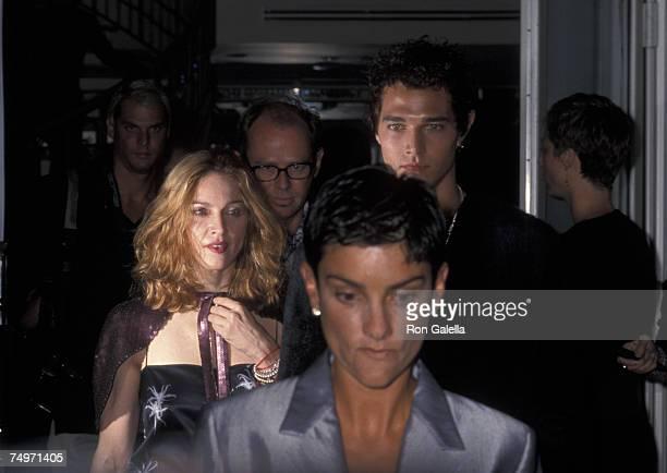 Madonna and Ingrid Casares