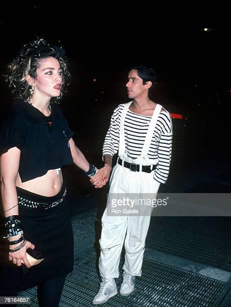 Madonna and John 'Jellybean' Benitez