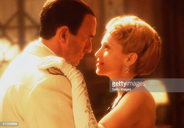 Madonna And Jonathan Pryce In The Movie 'Evita' January 17 1997