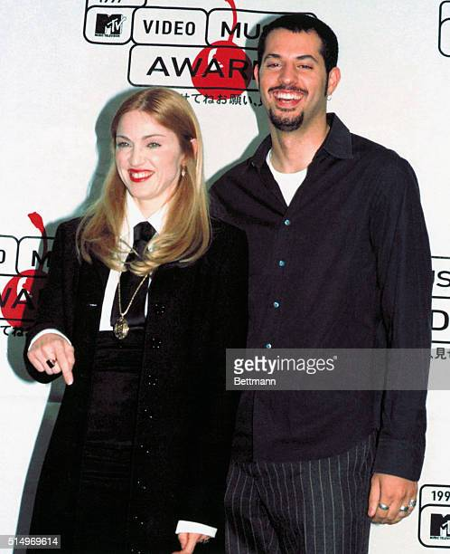 1997 Madonna and Record Producer Guy Osery at the 1997 MTV Music Awards