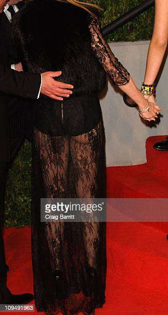Madonna arrives at the Vanity Fair Oscar party hosted by Graydon Carter held at Sunset Tower on February 27 2011 in West Hollywood California