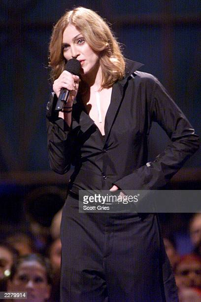 Madonna at the 1999 MTV Video Music Awards at the Metropolitan Opera House Lincoln Center in New York City 9/9/99