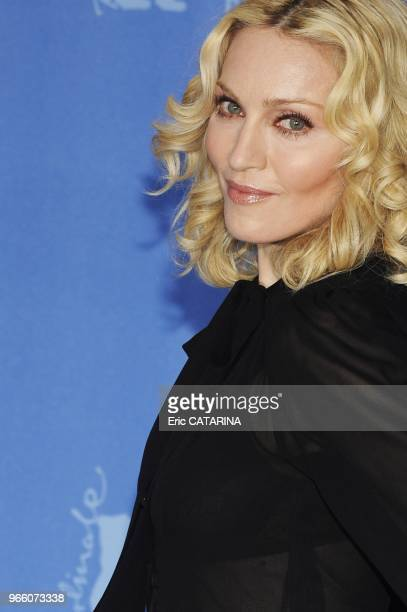 Madonna at the Berlinale as a Director for her movie 'Filth and Wisdom' in the Panorama section