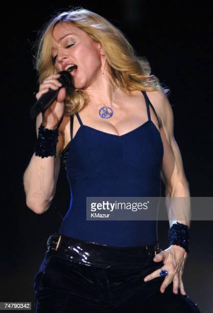 Madonna at the Empire Polo Field in Indio California