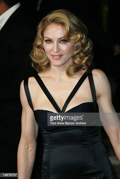 Madonna at the Mortons in West Hollywood California