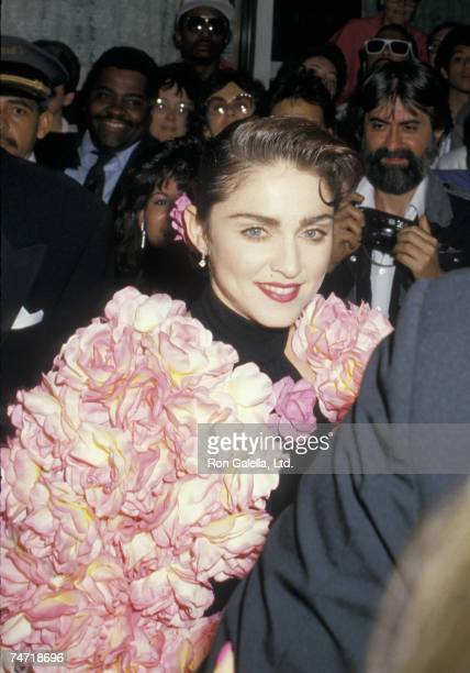 Madonna at the Sardi's in New York City New York