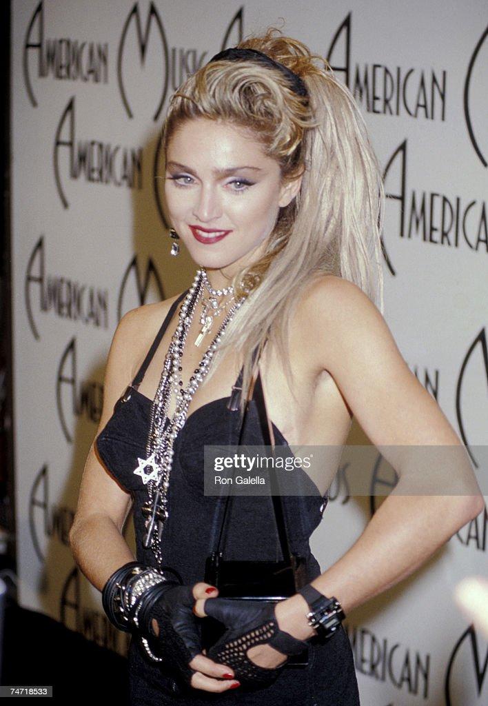 Madonna at the Shrine Auditorium in Los Angeles, California