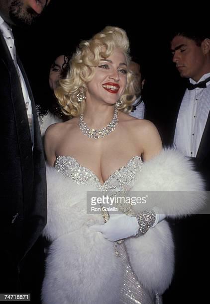 Madonna at the Spagos in Hollywood California
