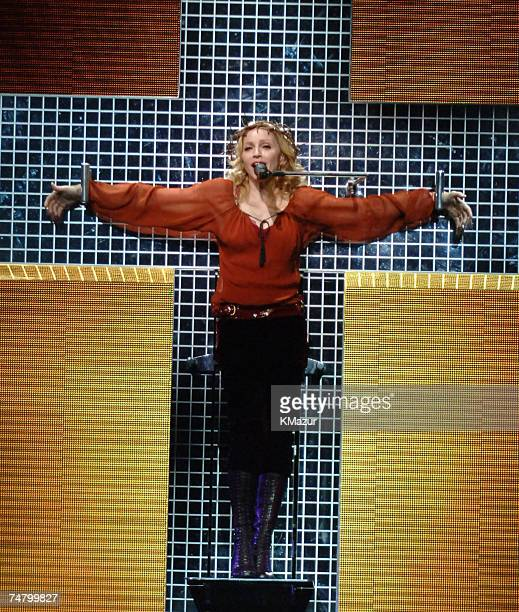 Madonna at the The Forum in Inglewood California